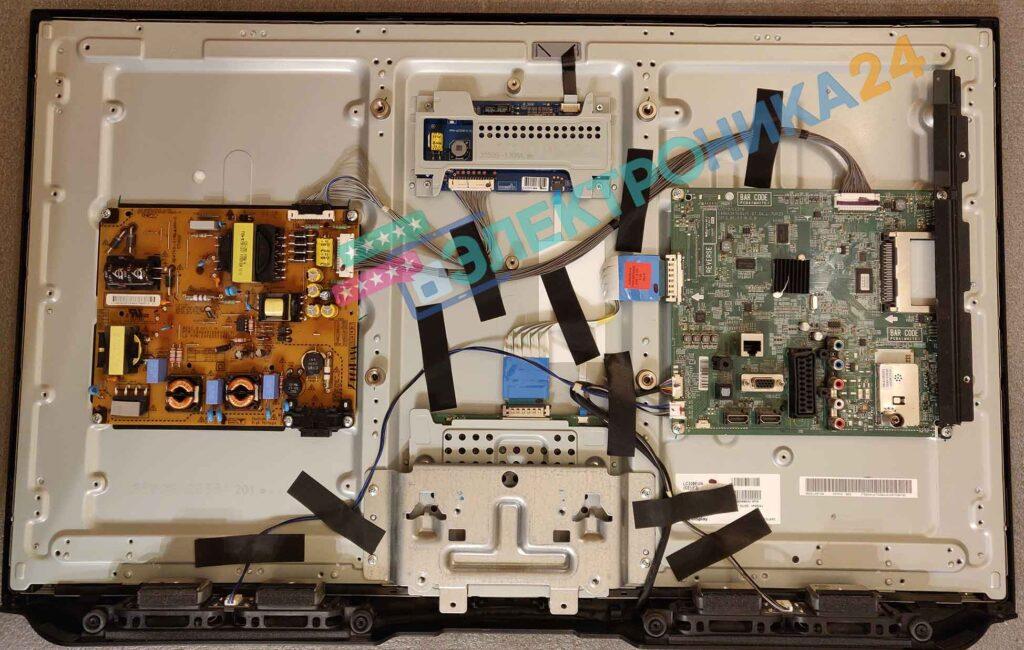 Фото плат телевизора LG 32LM580T