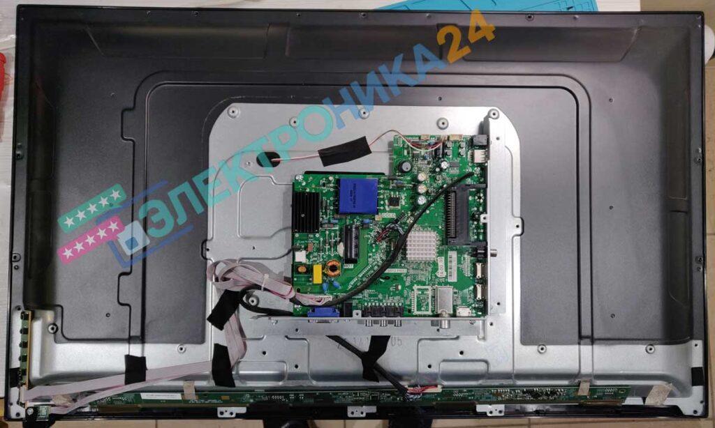 Разборка телевизора Telefunken LED32S32T2 фото 1