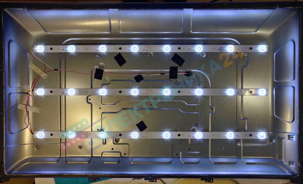 Тестирование подсветки led32s32t2