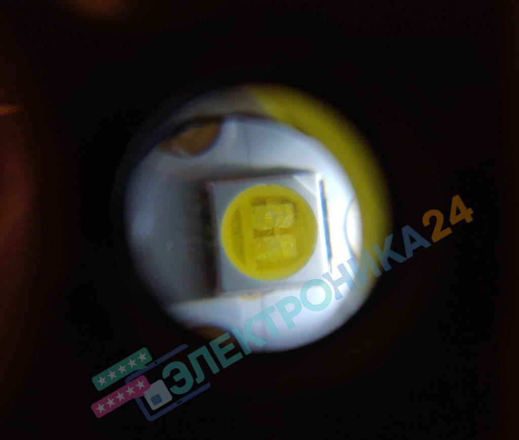 Треснувший светодиод в K320WDC1