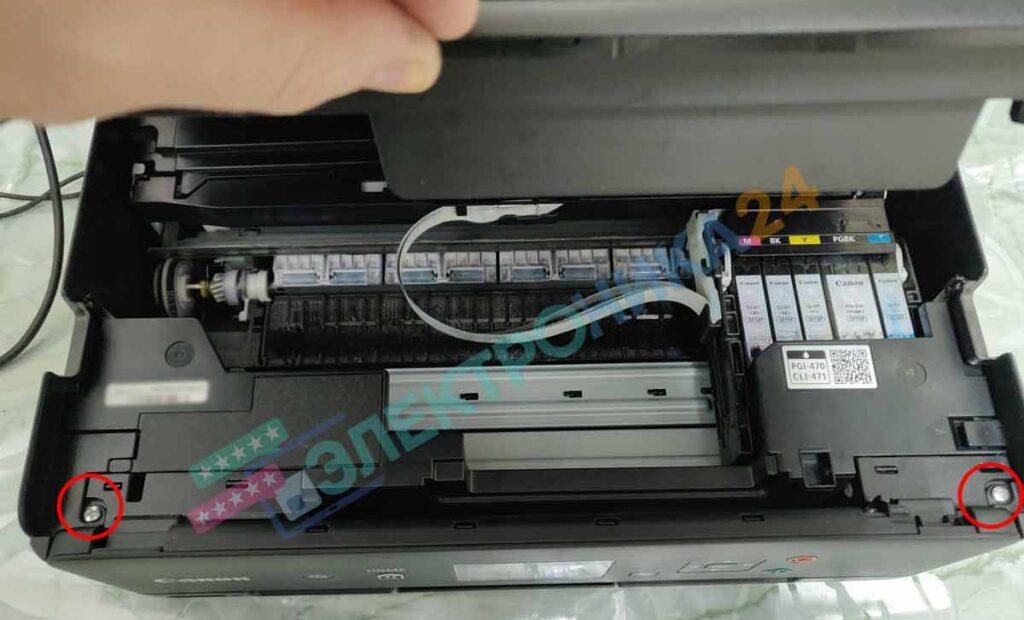 Разборка принтера TS5040 фото 2