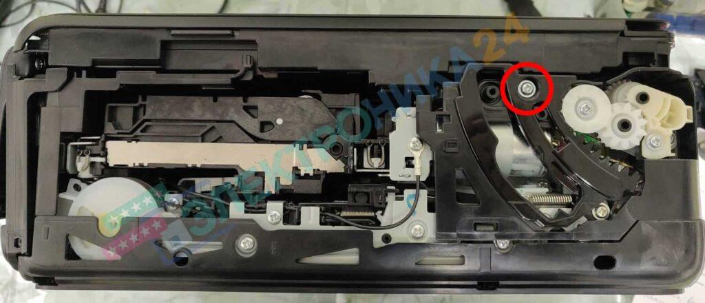 Разборка принтера TS5040 фото 4