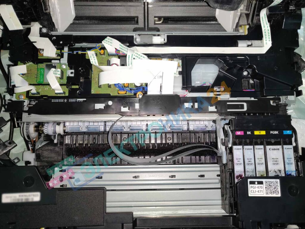 Разборка принтера TS5040 фото 6