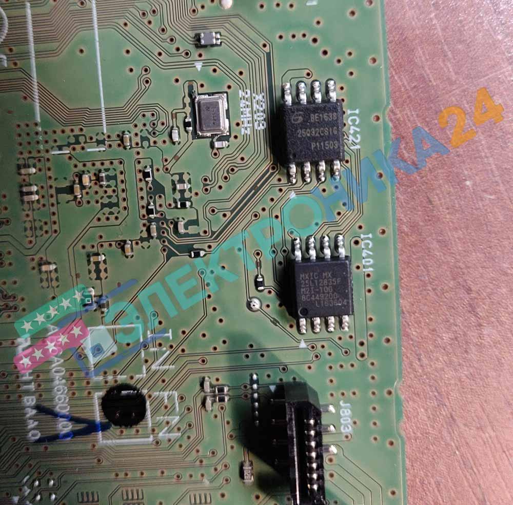 Микросхемы в принтере TS5040
