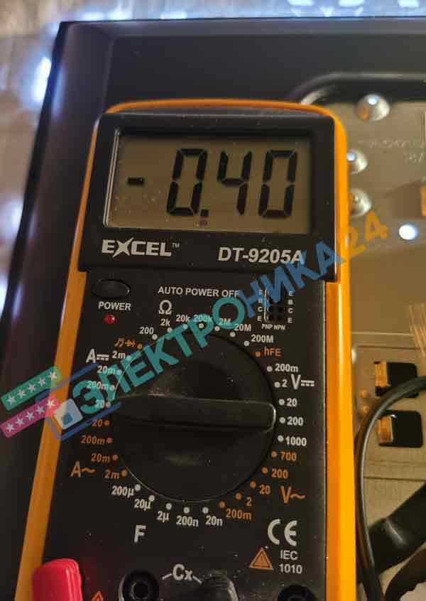 Soundmax LED24M03 нет изображения